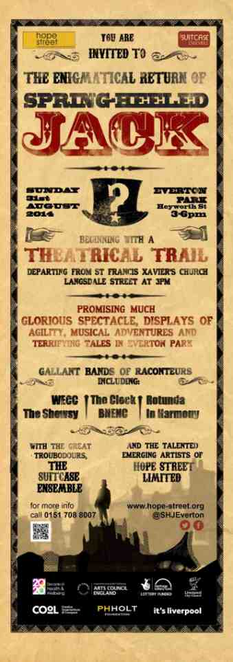 The Enigmatic Return of Spring Heeled Jack Liverpool