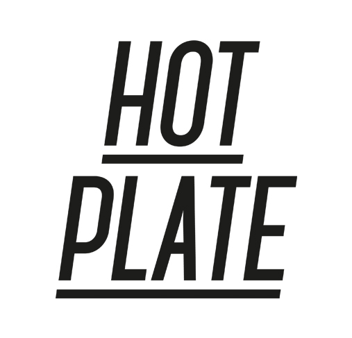 HOT PLATE BLACK LOGO