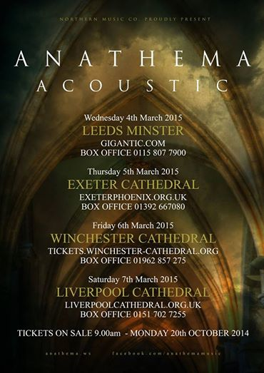 anathema tour liverpool