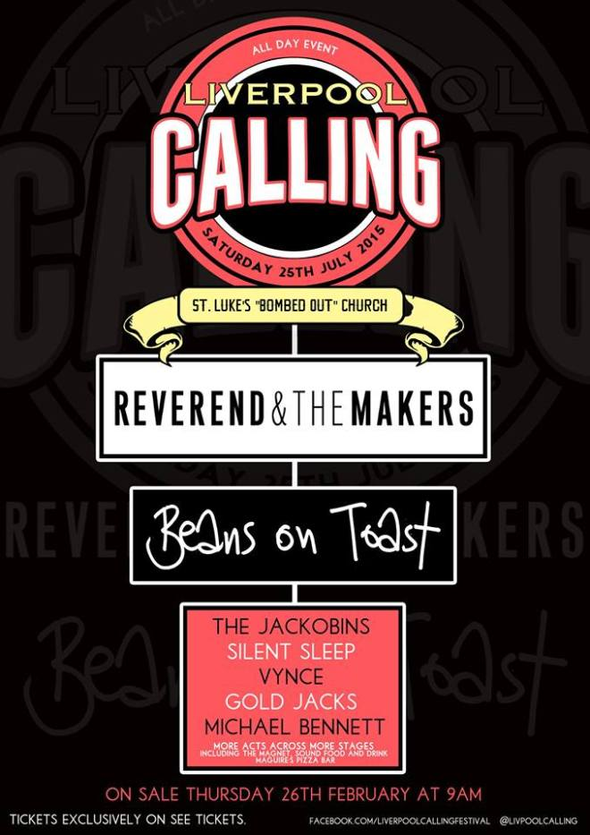 Liverpool Calling Poster 2015