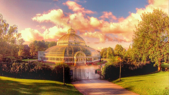 Palm House Aerial 2 LOW RES