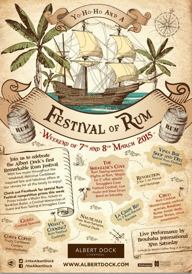 Albert Dock Rum Festival