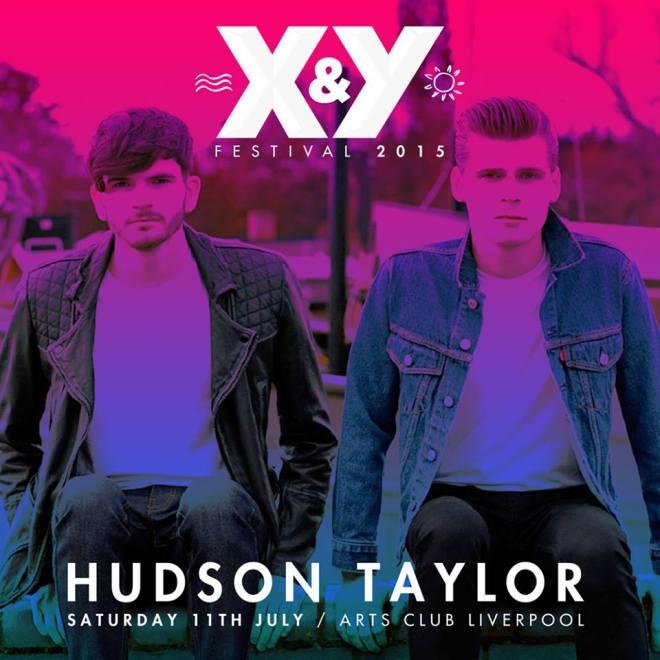 Hudson Taylor X&Y Festival Liverpool