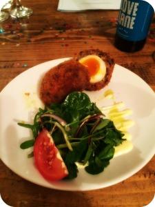 Haggis Scotch Egg
